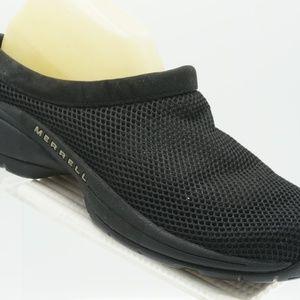 Merrell Primo Breeze II Size 10 Black Clogs C3B D9